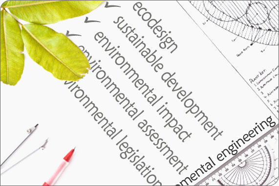 Environmental engineering: ecodesign, sustainable enviroment, life cycle assessment, environmental legislation and environmental analysis.